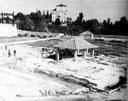 Veduta degli scavi della villa romana di Torre (1950-53)