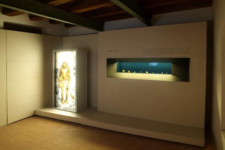 Sala 2 - Paleolitico