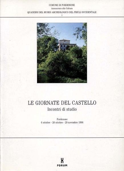 1- Le giornate del castello. Incontri di studio
