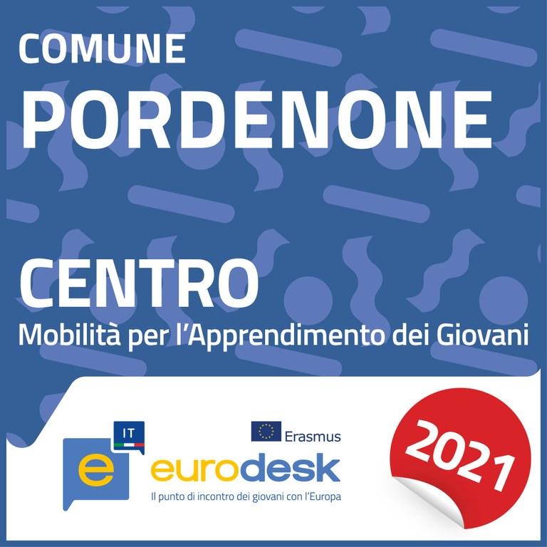 Logo Eurodesk Pordenone 2021