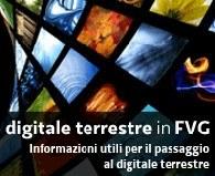 Informazioni per il passaggio al digitale terrestre imn Friuli Venezia Giulia