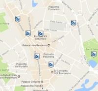 mappa wifi